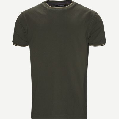 Croix Crewneck T-shirt Regular | Croix Crewneck T-shirt | Army